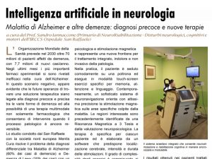 intelligenza artificiale in neurologia